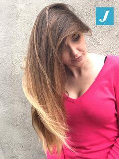 Your Spring Style _ Degradé Joelle #cdj #degradejoelle #tagliopuntearia #degradé #igers #musthave #hair #hairstyle #haircolour #longhair #ootd #hairfashion #madeinitaly #wellastudionyc