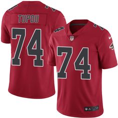 4df3cdd83ed Youth Nike Atlanta Falcons #74 Tani Tupou Limited Red Rush NFL Jersey