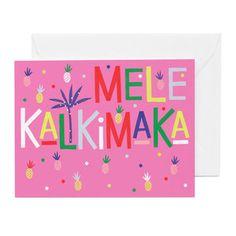 Mele-Kalikimaka-Card