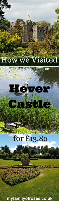 When planning a day out it has to be child friendly, interesting, fun and within a budget. Hever Castle is surrounded by many gardens, two mazes, archery and shield painting, military museum and miniature model houses. Plus a playground.  Read how we managed to visit Hever Castle as a family of 3 for £13.80