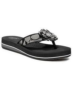 COACH JILLIAN SANDAL - Coach Shoes - Handbags & Accessories - Macy's