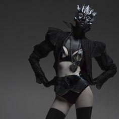 #fashion #editorial #photography #mask #moda #fotografía #máscara