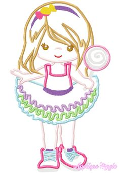 Machine Applique Designs, Machine Embroidery Patterns, Birthday Tutu, Girl Birthday, Different Types Of Fabric, Silly Dogs, Star Stitch, Child Face, W 6