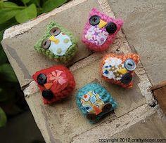 darling owl - free pattern