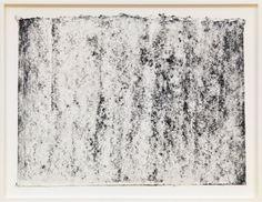 Richard Serra  Ramble 3–53, 2015  Litho crayon and pastel powder on paper