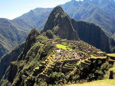 Huayna_Picchu_towers over Lost City of Machu Picchu, Peru.jpg David Stanley:wikimedia commons