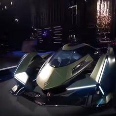 New Lamborghini V12 vision GT revealed Lamborghini Veneno, Koenigsegg, Lamborghini Company, Lamborghini Museum, Lamborghini Interior, Super Sport Cars, Super Cars, My Dream Car, Dream Cars