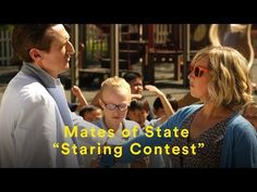 "Mates of State - ""Staring Contest"" (Official Music Video) - YouTube"