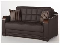 The Willow Convertible Full Size Loveseat Sofa Bed Click Clack by Istikbal