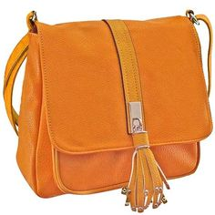 Yellow Cross Body Messenger Bag ($33) ❤ liked on Polyvore featuring bags, handbags, yellow, fashion bags, tassel crossbody bag, travel messenger bag, orange cross body bag, cross body messenger bag and studded crossbody bags