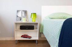 BrickBox/Bedroom: Create a dresser, bedside tables, media, closet storage. Modular means you can create what you need, and change it over time! Decor, Storage Furniture, Furniture, Apartment Living, Mid Century Design, Modern Storage Furniture, Closet Storage, Home Decor, Modular Furniture