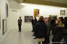 Visite de l'exposition Cobra, sous le regard d'un passionné - LAAC, Dunkerque - 2012 - Photo www.jepi-dunkerque.fr