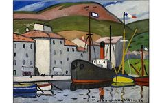 Louis Mathieu Verdilhan (French, 1875-1928) > Port de Cassis