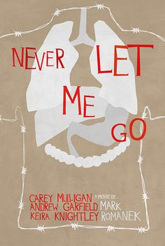 Never Let Me Go. Really liked this movie despite the grim futuristic snapshot of how the have nots are raised to donate their organs to the haves.
