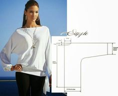 Fashion and Sewing Tips: BLOUSE EASY TO MODELLING AND SEWING