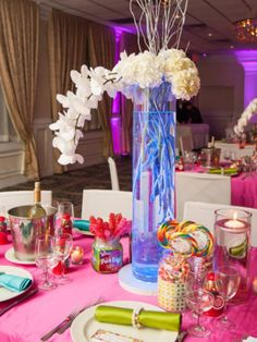 Who doesn't love a delicious candy theme? #Weddingwednesday #eventvenue #PARTY Sweet 16 l Villa Barone Hilltop Manor l Call (845) 628-6600 To Book Today! Click the link to learn more --> http://www.villabaronehilltop.com/