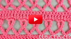 Learn How To Crochet This Pink Ribbon Scarf!
