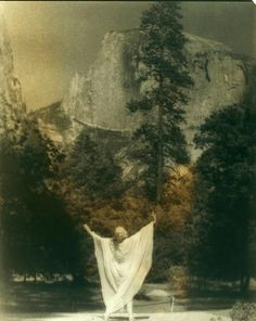 Ruth St. Denis in Yosemite Valley (1919-1920)
