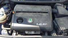 Motor Skoda Fabia 1.4 MPI 2001. Enviamos para todo país. Transportadora / Correio.
