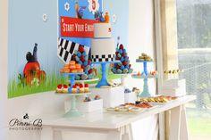 Fantastic Turbo the Racing Snail themed 5th birthday