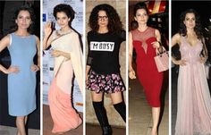 WLCI School of Fashion believes that Kangana Ranaut has the best fashion sense in all of BollyTown ! This diva is wearing her clothes right and is often seen experimenting with her looks. Dress in any kind of outfit, but you must adapt it to your personality. That is exactly what this curly haired quirky star is doing. With her slender body, she can and does rock any outfit.