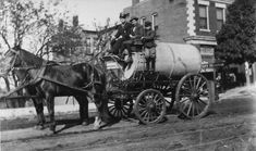 Decatur Fire Wagon on 2nd. Ave by Decatur Public Library, via Flickr