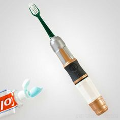 Sonic Screwdriver toothbrush...even Time Lords must have good oral hygiene!