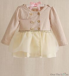 Over the Loom - Baby Military Tulle Jacket, $34.00 (http://www.overtheloom.com/tops/baby-military-tulle-jacket/)
