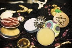 Make Your Own Unique Handmade Solid Perfume!    Need to find your own smell, but this is a good guide!