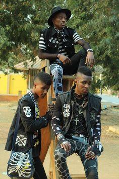 Punk Outfits, Grunge Outfits, Goth Aesthetic, Aesthetic Clothes, Alternative Outfits, Alternative Fashion, Estilo Punk Rock, Afro Punk Fashion, Black Goth