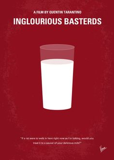 Inglourious Basterds (2009) ~ Minimal Movie Poster by Chungkong #amusementphile