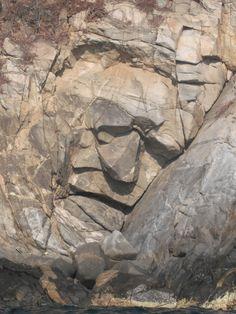 Rock face - Huatulco Mexico