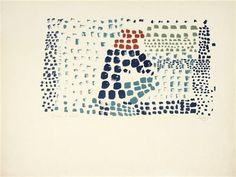 Study in Colour No. 1 (Woimant Staël 93)  : Nicolas de Staël (1914 - 1955)