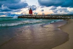 Charlevoix Area Chamber of Commerce - South Pier Lighthouse