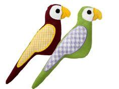 Papagei ITH Stickmuster für eine Stickmaschine. Parrots. ith machine embroidery design. Stickdesign Kerstin Bremer