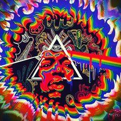 Darkside of The illuminati Jimi (?)  #lsdspiritualdream  #LSD  #jimihendrix  #darksideofthemoon  #disc  #illuminati  #hendrix  #psychedelic  #psychotic  #acidtrip  #trippy  #trippymane  #insane  #pic