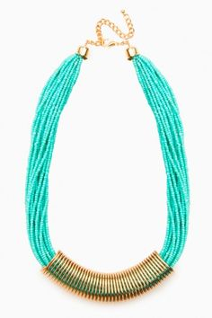 Cullodina Necklace in Minty Turquoise