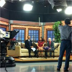 TV appearance with Ukee Washington on his show Talk Philly on CBS3.