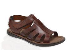 Flo Vitrini - Panama Club 507 M 1558 Kahve Erkek Sandalet
