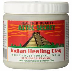 Indian Healing Clay Deep Pore Cleanser  Literally the best face mask!