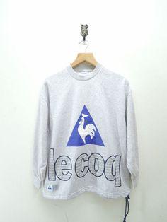 Vintage Le Coq Sportif Big Logo Sweatshirt by RetroFlexClothing