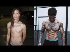 NEW Chris Heria Incredible Calisthenics Body Transformation THENX - YouTube