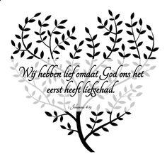 1 Johannes 4:19 God heeft jou lief!