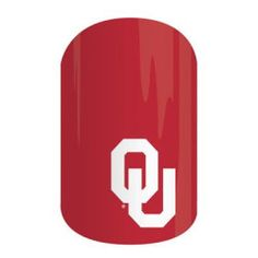 University of Oklahoma | Jamberry | Take spirit fingers to a whole new level with Jamberry's officially licensed University of Oklahoma wraps. Wear these wraps alone or pair them with Jamberry Professional Nail Lacquer in your team's colors for spirit fingers that last.