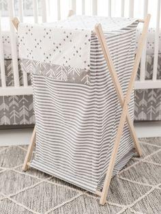 Arrow Gray Nursery Hamper