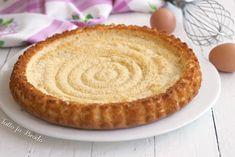 IMPASTO BASE CROSTATA MORBIDA Un impasto base per realizzare una deliziosa crostata morbida pronta da farcire e semplice da fare!