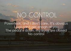 #NoControlDay