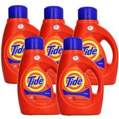 En CVS puedes conseguir una selección de detergente Tide de 37-50 oz a $5.34 en especial hasta el 3/4. Para mejorar la oferta utiliza (4) ...