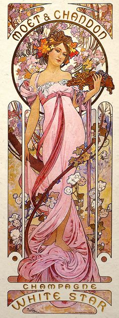 Alphonse Mucha /'Madonna of the Lillies/' FINE ART PRINT Rare 40cm x 60cm