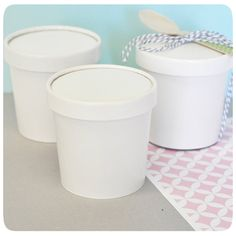These Ice Cream containers are perfect for the crafty bride or mommy to be! An adorable mini size, DIY Blank Mini Ice Cream Containers can be customized into a completely unique party favor that coord Diy Birthday Party Favors, Unique Party Favors, Diy Wedding Favors, Birthday Ideas, Birthday Parties, 5th Birthday, Wedding Ideas, Personalized Wedding Favors, Wedding Boxes